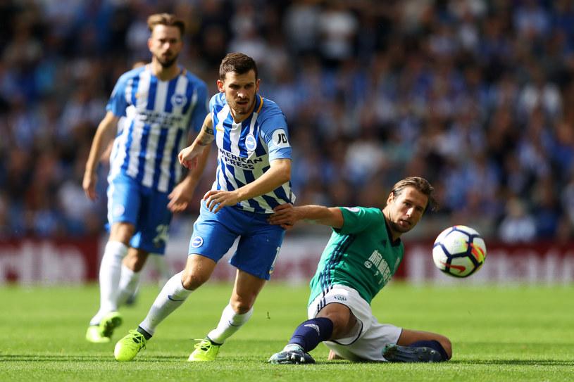 Grzegorz Krychowiak (P) w debiucie w Premier League /Dan Istitene /Getty Images