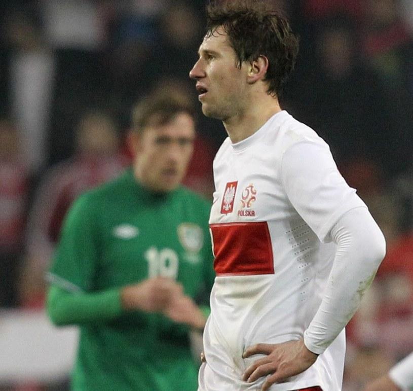 Grzegorz Krychowiak po meczu z Irlandią /AFP
