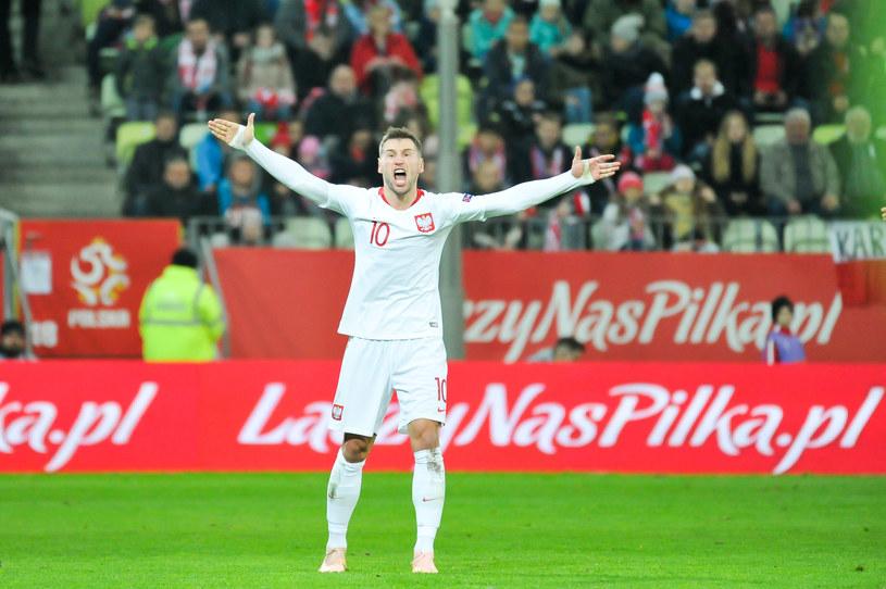 Grzegorz Krychowiak rozegrał najwięcej minut dla reprezentacji Polski w 2018 roku /Wojciech Stróżyk /East News