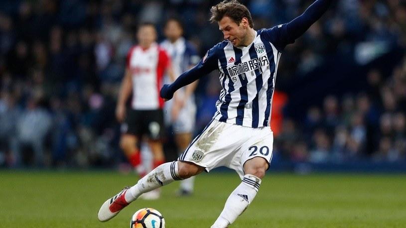 Grzegorz Krychowiak w barwach West Bromwich Albion /Getty Images