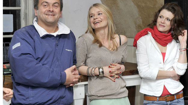 Grzegorz Kuczeriszka, Magdalena Cielecka, Joanna Sydor. /  /AKPA
