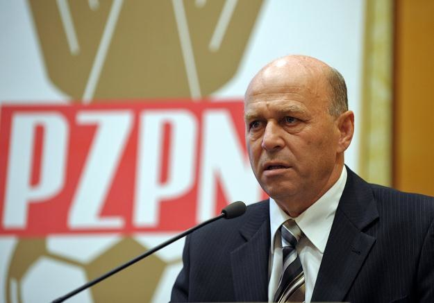 Grzegorz Lato, prezes PZPN /AFP