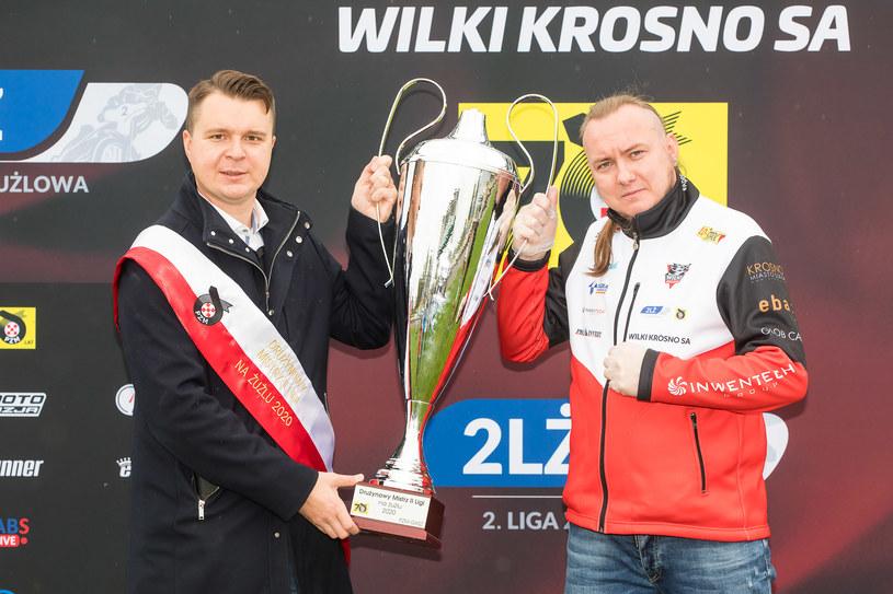 Grzegorz Leśniak i Robert Węgrzyn /Marcin Karczewski /Newspix
