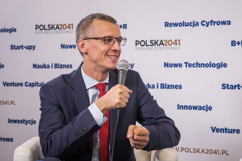 Grzegorz Maliszewski, główny ekonomista Banku Millennium. /Ireneusz Rek /INTERIA.PL