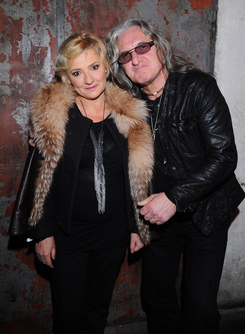Grzegorz Markowski z żoną /Piotr Wygoda /East News