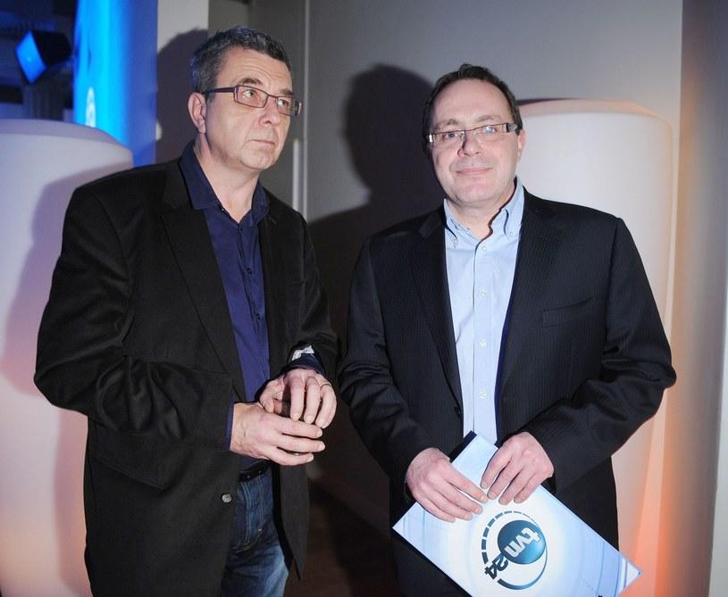 Grzegorz Miecugow i Tomasz Sianecki /Fotek /Reporter