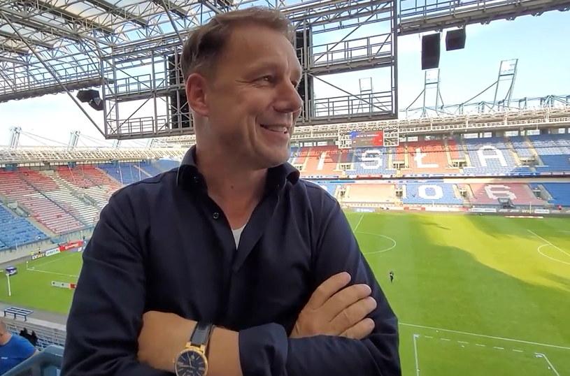 Grzegorz Mielcarski na stadionie Wisły /Michał Białoński /INTERIA.PL