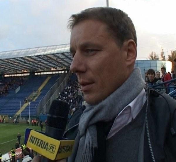 Grzegorz Mielcarski przyglądnął się Górnikowi Zabrze. /INTERIA.PL