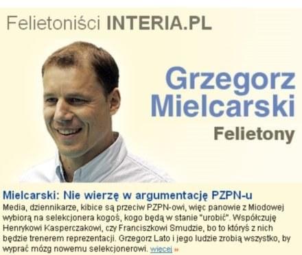 Grzegorz Mielcarski /INTERIA.PL
