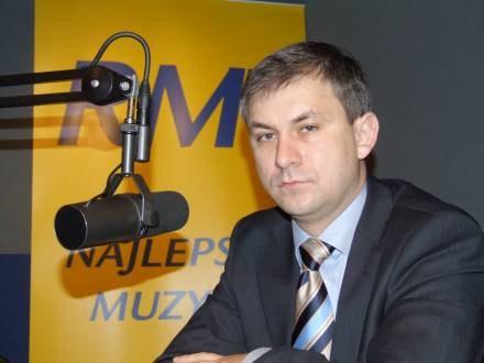 Grzegorz Napieralski będzie jednym z autorów raportu /RMF