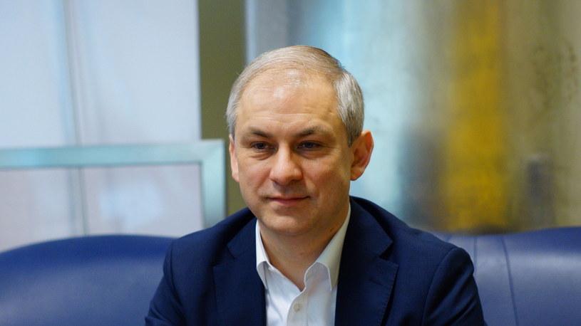 Grzegorz Napieralski w RMF FM /Michał Dukaczewski (RMF FM) /RMF FM