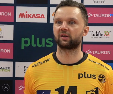 Grzegorz Pająk: Lublin pokazał wielki potencjał. WIDEO (Polsat Sport)