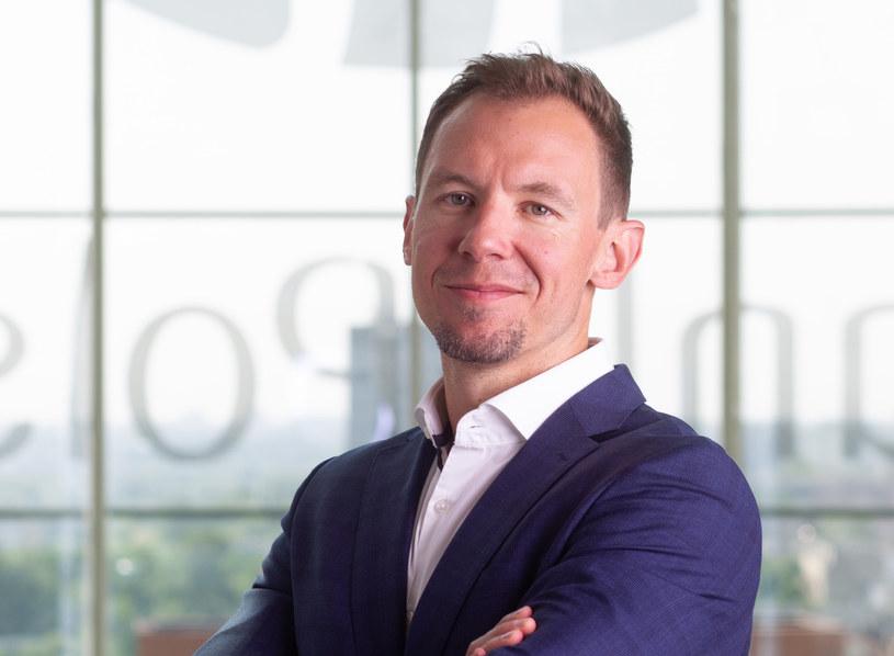 Grzegorz Pawlicki, dyrektor Biura Innowacji PKO Banku Polskiego. Źródło: PKO BP /&nbsp