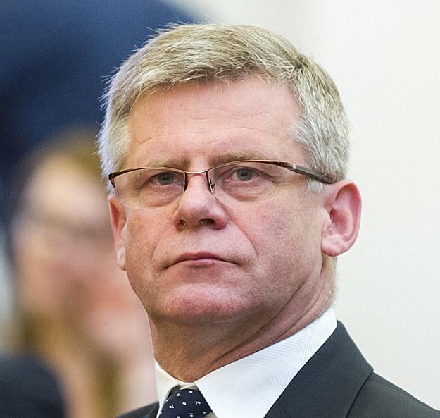 Grzegorz Piwowar, były prezes Banku Pekao. Fot. Bartosz Krupa /Super Express