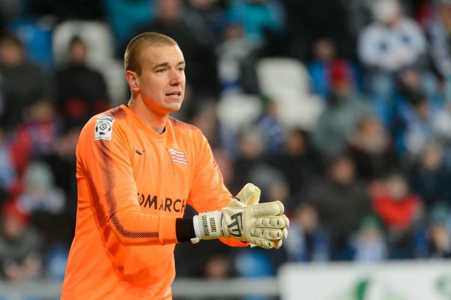 Grzegorz Sandomierski występował m.in. w Jagiellonii Białystok, Blackburn Rovers, Dinamie Zagrzeb i Cracovii /Jakub Kaczmarczyk /PAP