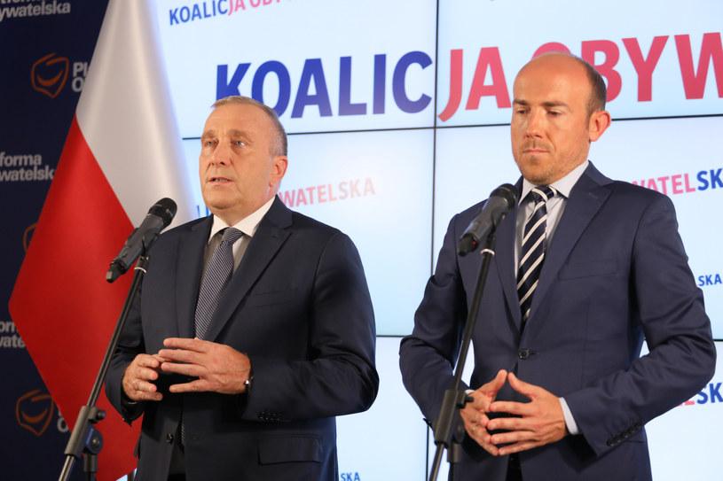 Grzegorz Schetyna chce prawyborów. Borys Budka jest przeciwny / Jakub Kamiński    /East News