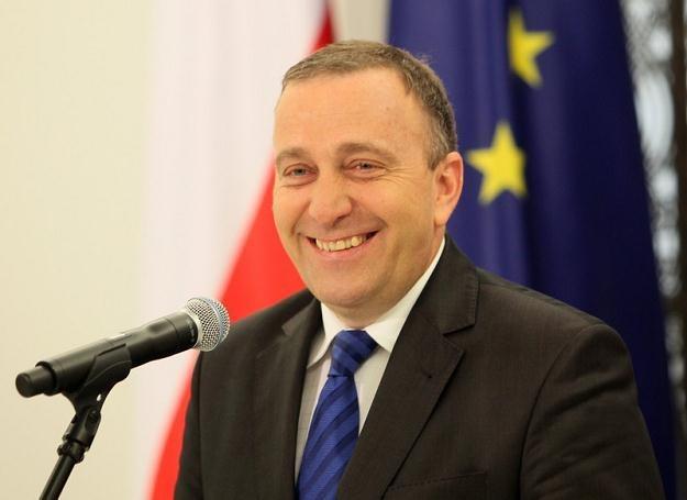 Grzegorz Schetyna / fot. J. Waszkiewicz /Reporter