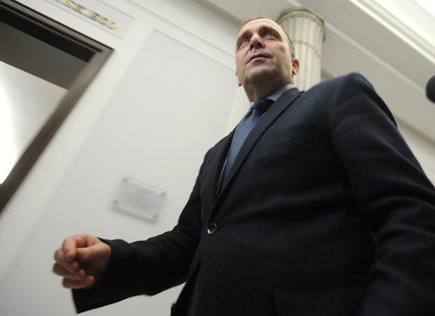 Grzegorz Schetyna. Fot Witold Rozbicki /Reporter