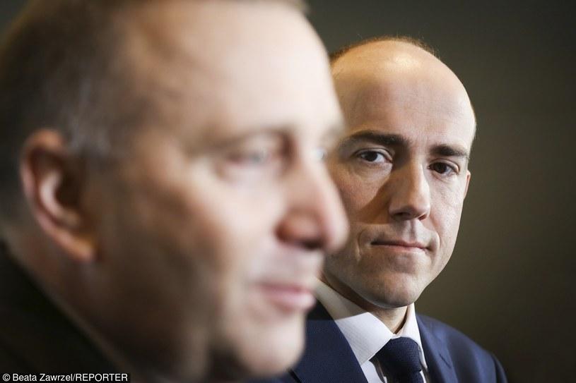 Grzegorz Schetyna i Borys Budka /fot. Beata Zawrzel/REPORTER /East News