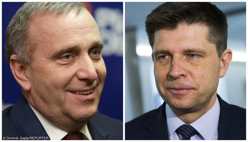 Grzegorz Schetyna i Ryszard Petru /Dominik Gajda/Andrzej Hulimka /Reporter
