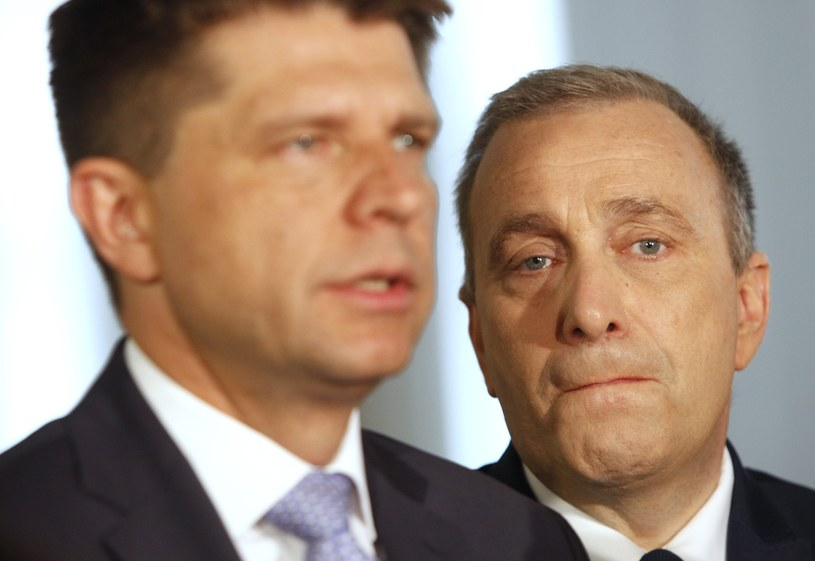 Grzegorz Schetyna i Ryszard Petru /Stefan Maszewski /Reporter
