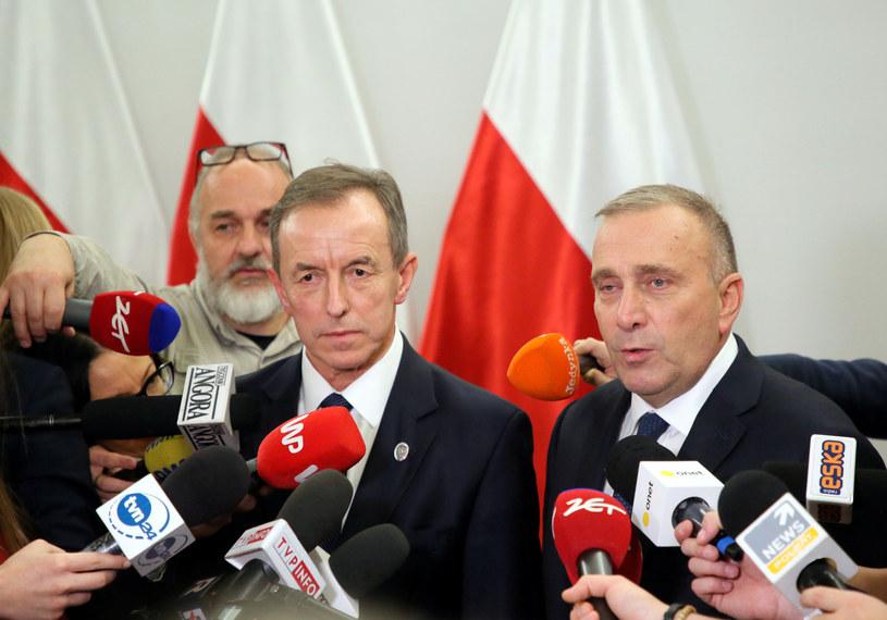 Grzegorz Schetyna i Tomasz Grodzki /Piotr Molecki /East News
