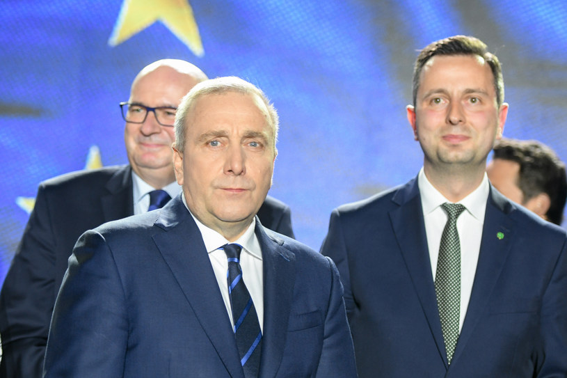 Grzegorz Schetyna i Władysław Kosiniak-Kamysz /Jacek Domiński /Reporter