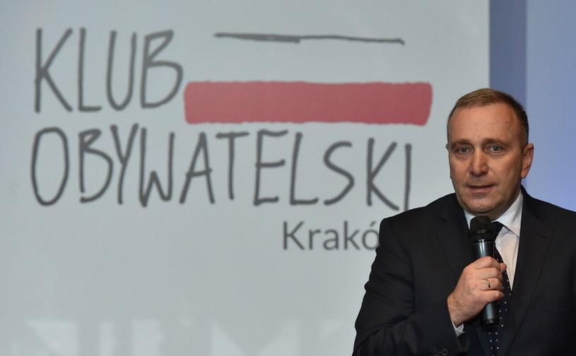 Grzegorz Schetyna inauguruje działalność Klubów Obywatelskich /Jacek Bednarczyk /PAP