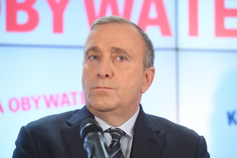 Grzegorz Schetyna: Jeden kandydat opozycji w pierwszej turze? Nie sądzę /Jacek Dominski/ /Reporter