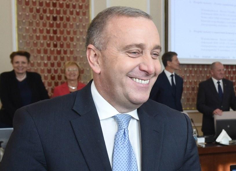 Grzegorz Schetyna, jeszcze minister spraw zagranicznych /Radek Pietruszka /PAP