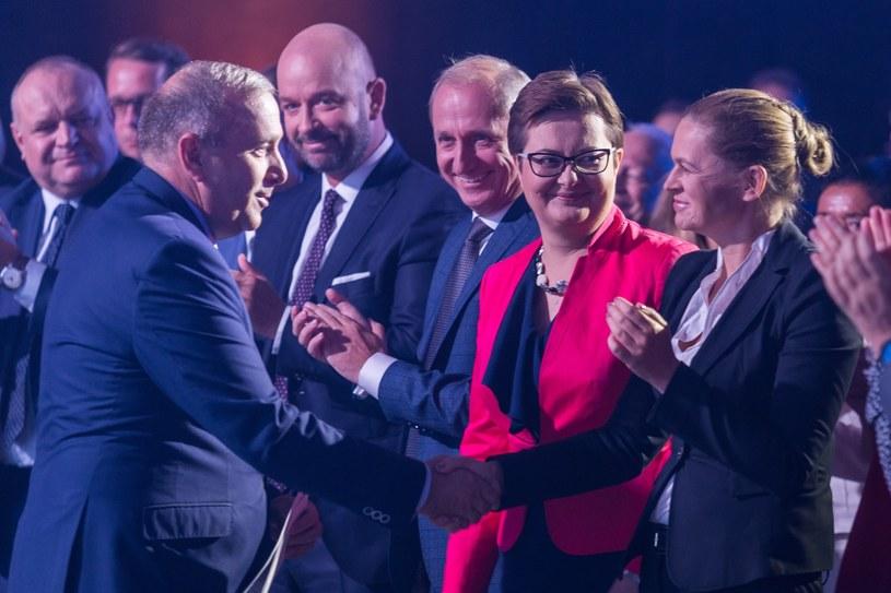 Grzegorz Schetyna, Katarzyna Lubnauer i Barbara Nowacka /Krzysztof Kaniewski /Reporter