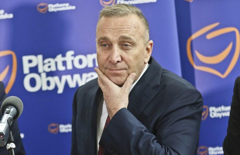 Grzegorz Schetyna - lider PO /Piotr Jędzura /East News