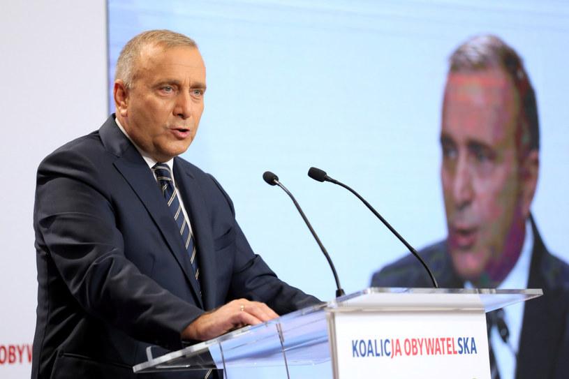 Grzegorz Schetyna, lider PO /Jakub Kaminski/East News /East News