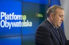 Grzegorz Schetyna napisał list do członków PO i wyborców KO