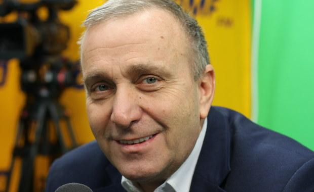 Grzegorz Schetyna o podpisie płk. Mazguły pod apelem ws. 13 grudnia: To nieporozumienie