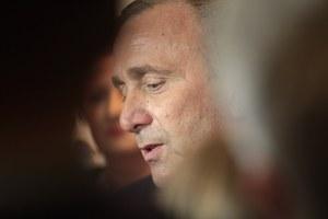 Grzegorz Schetyna: Słowa Macrona trudne, ale trzeba z nim rozmawiać