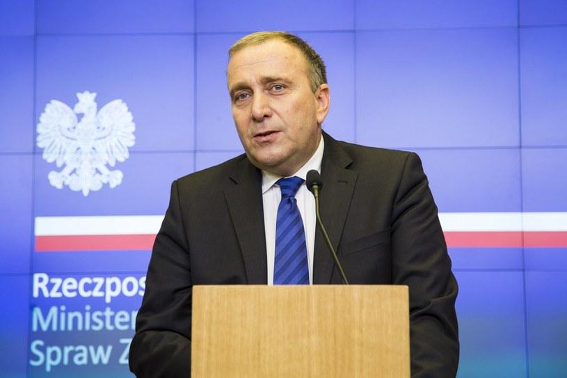 """Grzegorz Schetyna: """"Unia Europejska nie powstała tylko po to, żeby kogoś przegłosowywać i coś narzucać"""" /Andrzej  Hulimka /Reporter"""