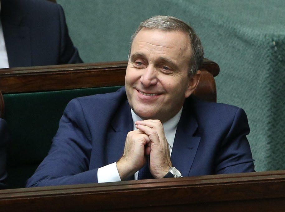 Grzegorz Schetyna w Sejmie /Rafał Guz /PAP