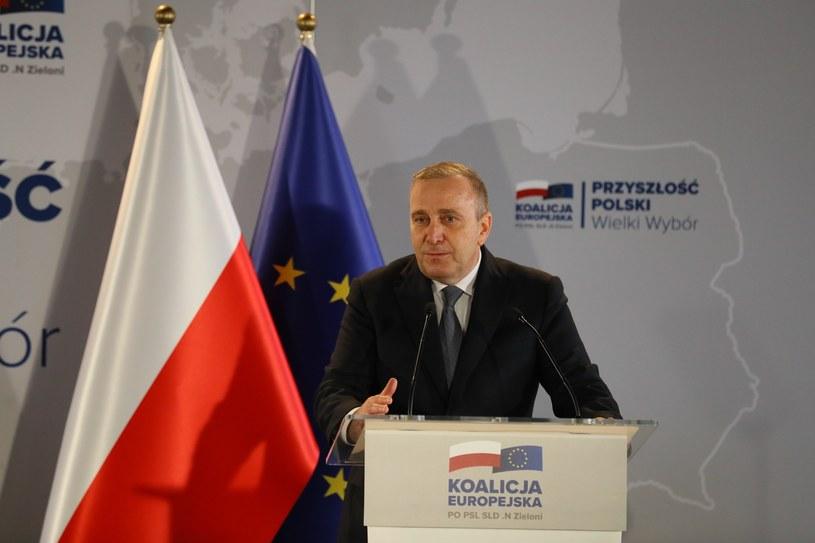 Grzegorz Schetyna w Szczecinie /Robert Stachnik /Reporter