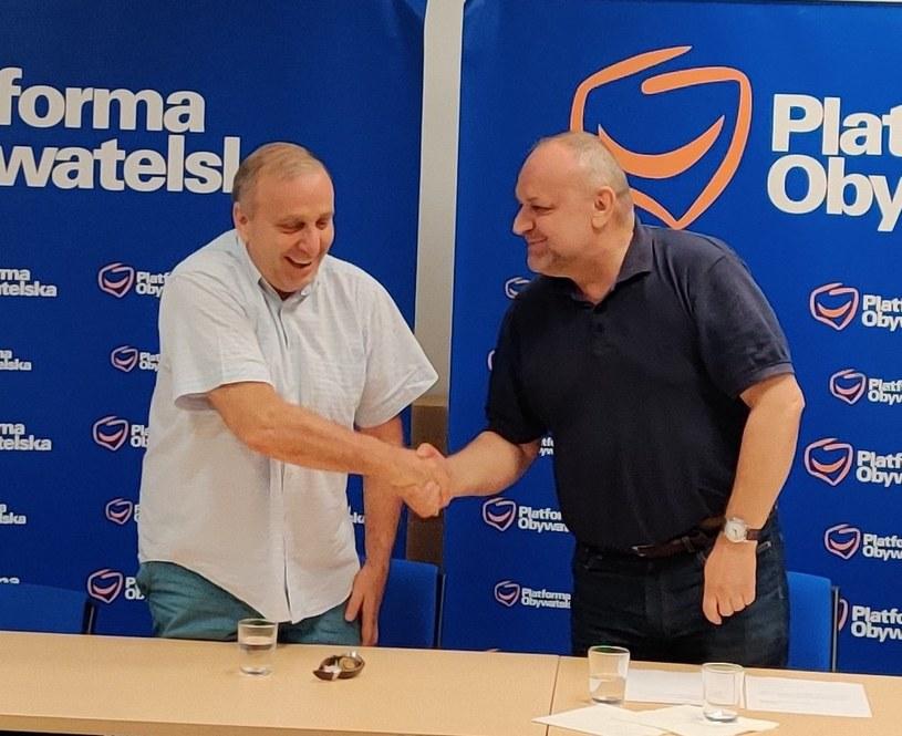 Grzegorz Schetyna został p.o. szefa struktur PO na Dolnym Śląsku /Platforma Obywatelska /Twitter