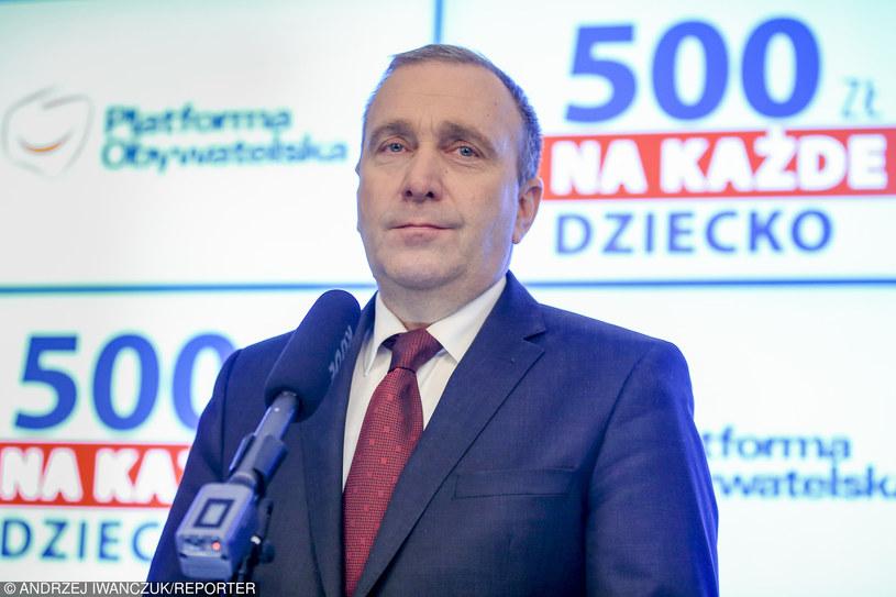 Grzegorz Schetyna /Andrzej Iwańczuk/Reporter /East News