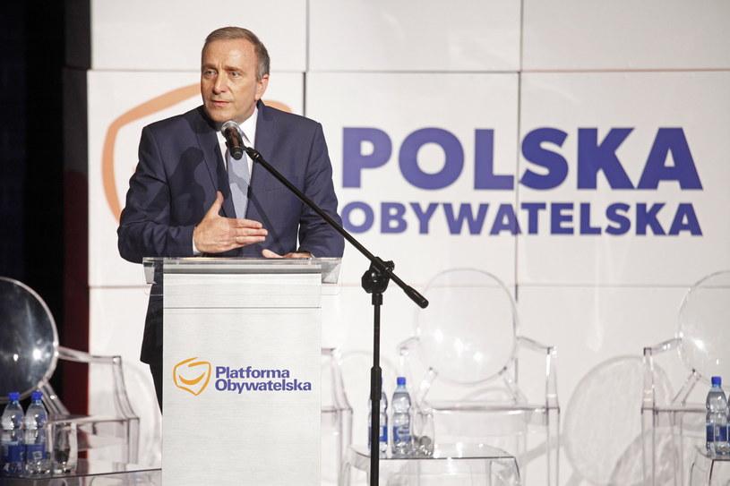 Grzegorz Schetyna /Artur Reszko /PAP