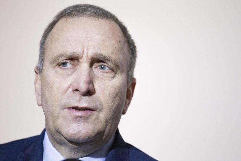 Grzegorz Schetyna /Maciej Luczniewski/REPORTER /East News