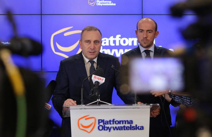 Grzegorz Schetyna /Tomasz Gzell /PAP