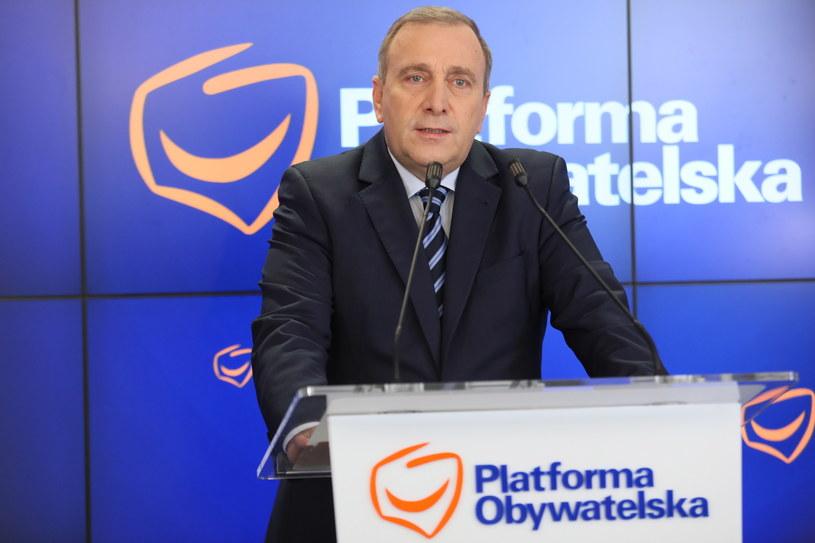 Grzegorz Schetyna / Leszek Szymański    /PAP