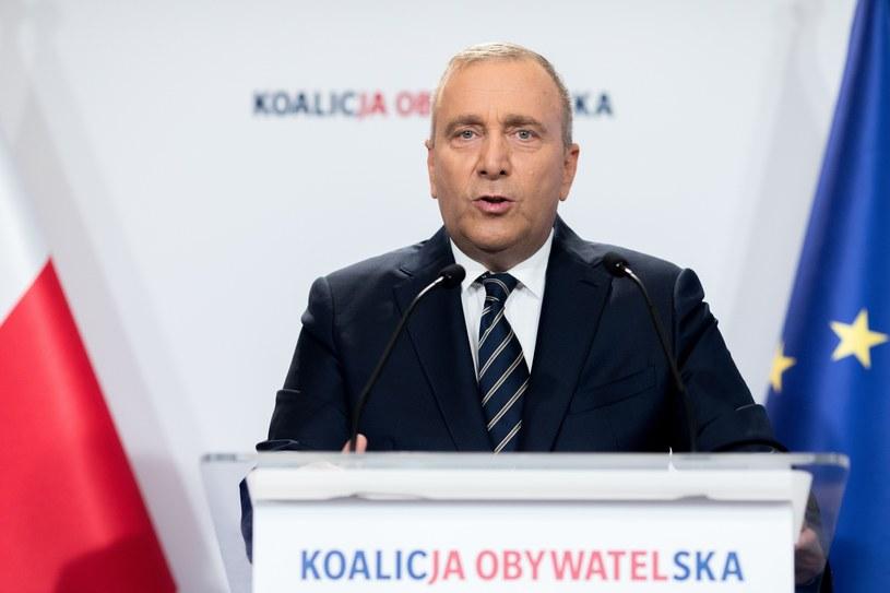 Grzegorz Schetyna /fot. Andrzej Iwanczuk /Reporter
