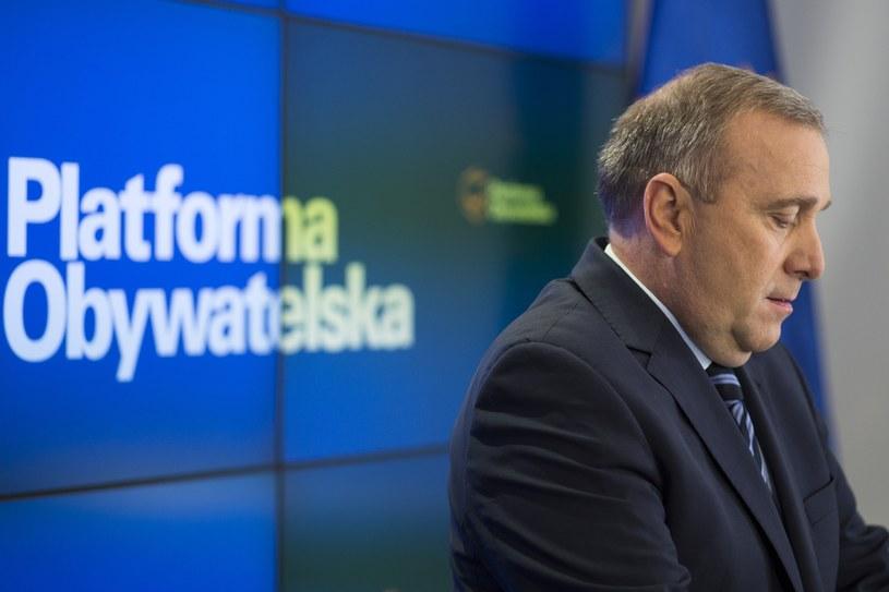 Grzegorz Schetyna /Andrzej Hulimka  /Reporter