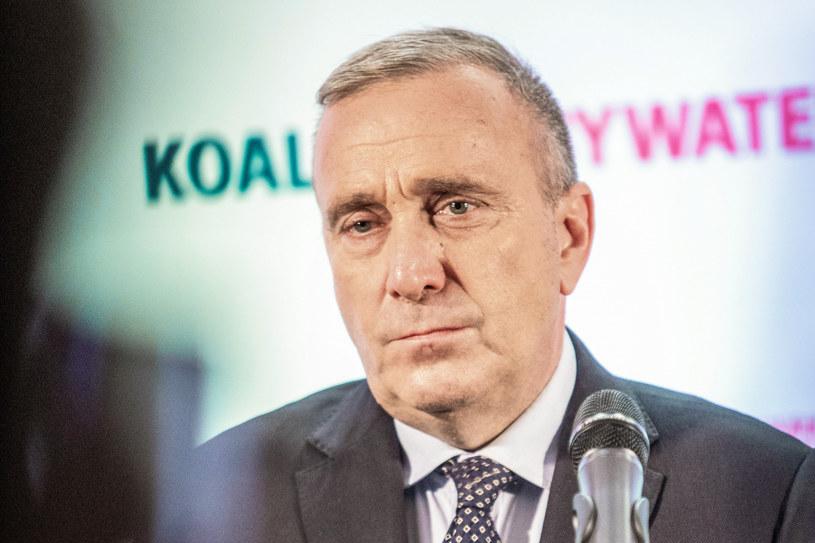 Grzegorz Schetyna /Grzegorz Banaszak /Reporter