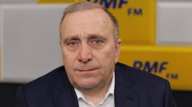 Grzegorz Schetyna /Jakub Rutka /RMF FM