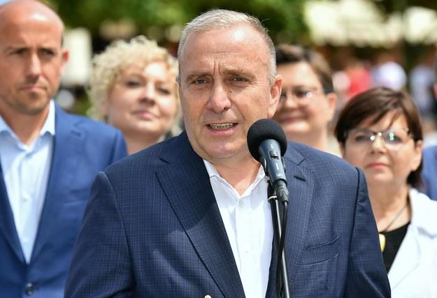Grzegorz Schetyna / Maciej Kulczyński    /PAP